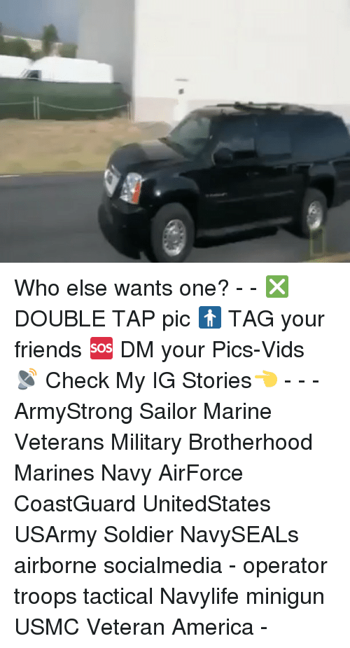 minigun: Who else wants one? - - ❎ DOUBLE TAP pic 🚹 TAG your friends 🆘 DM your Pics-Vids 📡 Check My IG Stories👈 - - - ArmyStrong Sailor Marine Veterans Military Brotherhood Marines Navy AirForce CoastGuard UnitedStates USArmy Soldier NavySEALs airborne socialmedia - operator troops tactical Navylife minigun USMC Veteran America -
