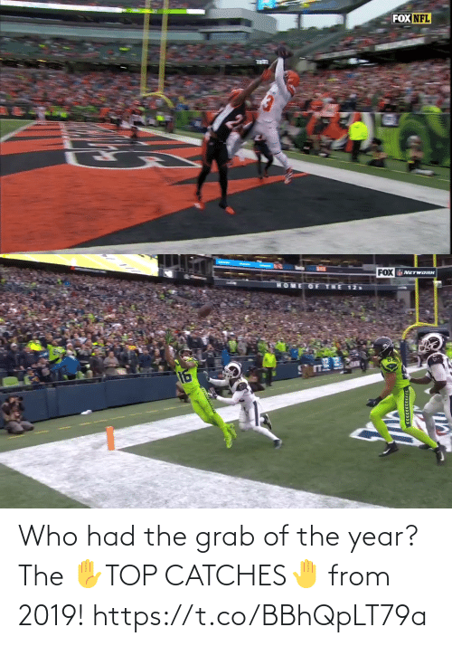 Of The Year: Who had the grab of the year?   The ✋TOP CATCHES🤚  from 2019! https://t.co/BBhQpLT79a