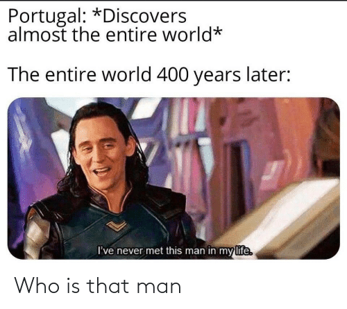 who: Who is that man