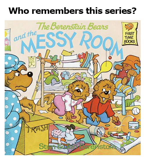 Berenstain Bears, Memes, and Bears: who remembers this series?  The Berenstain Bears  FIRST  TİME  800KS  St