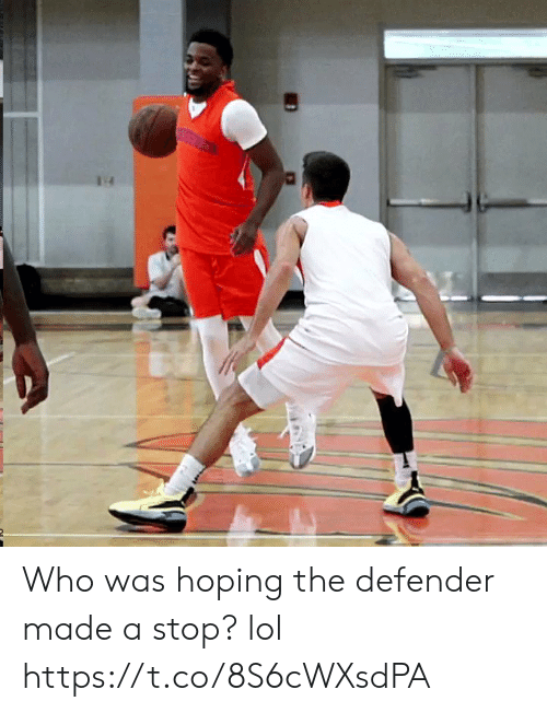 Lol, Memes, and 🤖: Who was hoping the defender made a stop? lol https://t.co/8S6cWXsdPA