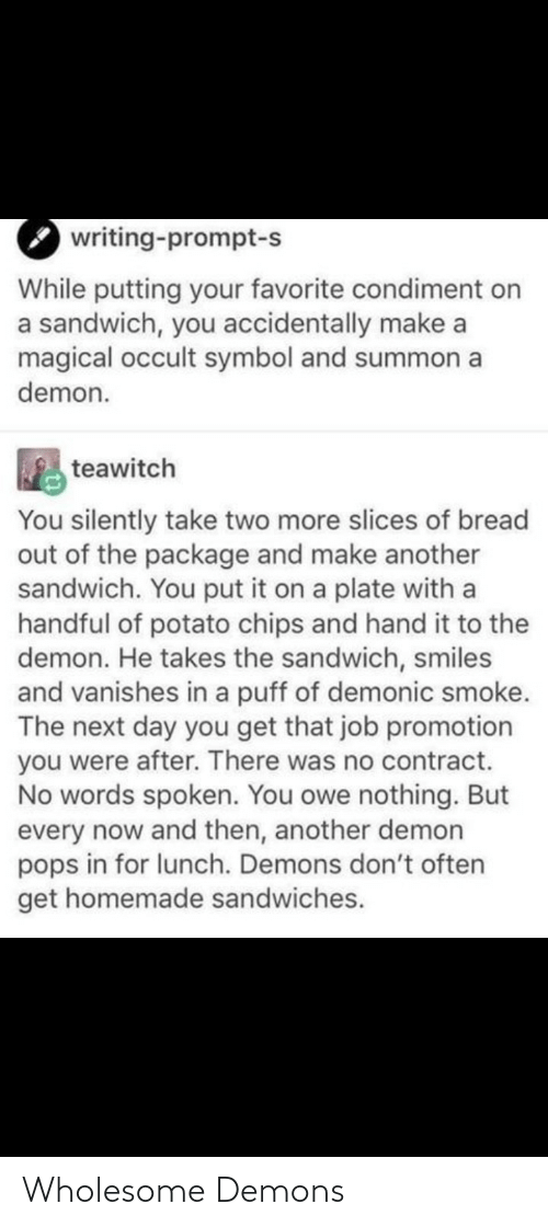 demons: Wholesome Demons