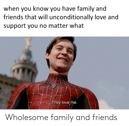 Wholesome Family: Wholesome family and friends