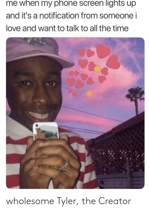 creator: wholesome Tyler, the Creator