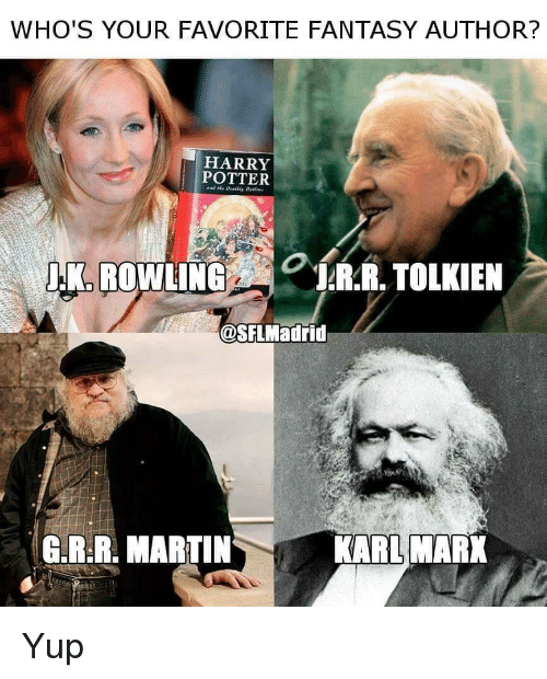 opinion of marx and harry potter Below is the solution for harry potter's homeland crossword clue « seconded as an opinion marx who co-wrote the communist manifesto.