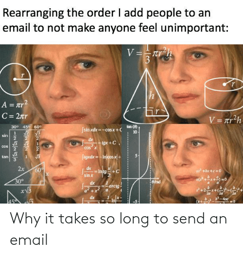 Takes: Why it takes so long to send an email