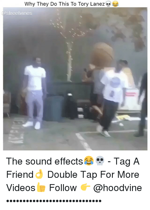 Hoodvine: Why They Do This To Tory Lanez  streetvines The sound effects😂💀 - Tag A Friend👌 Double Tap For More Videos👍 Follow 👉 @hoodvine •••••••••••••••••••••••••••••