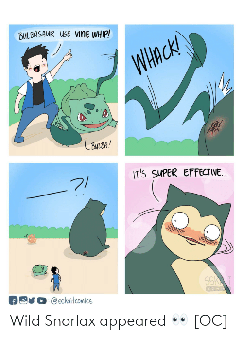 Wild: Wild Snorlax appeared 👀 [OC]