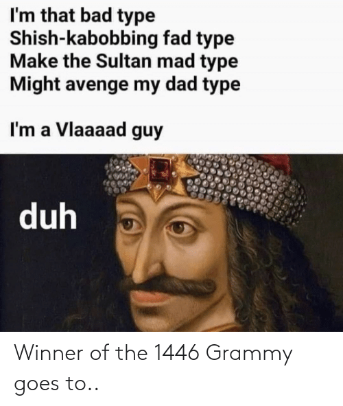Goes: Winner of the 1446 Grammy goes to..