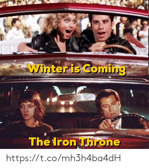 Winter, Iron, and Winter Is Coming: Winter is Coming  The Iron Throne https://t.co/mh3h4ba4dH