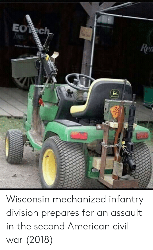 Wisconsin: Wisconsin mechanized infantry division prepares for an assault in the second American civil war (2018)