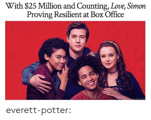 Love, Target, and Tumblr: With $25 Million and Counting, Love, Simon  Proving Resilient at Box Office everett-potter:
