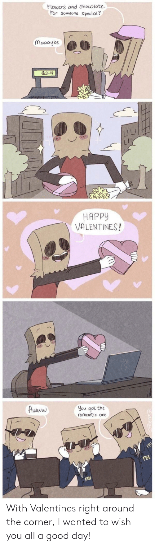 valentines: With Valentines right around the corner, I wanted to wish you all a good day!