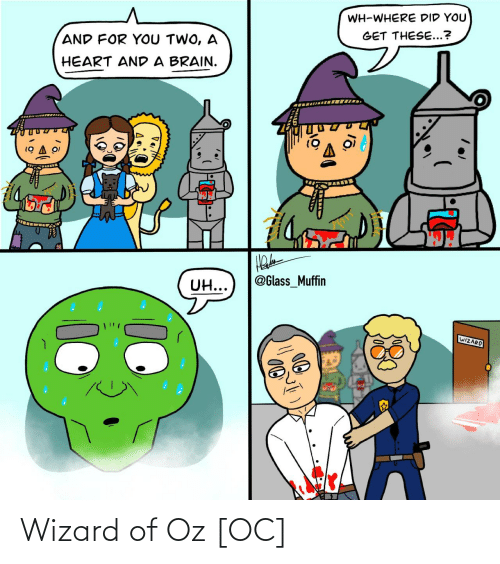 wizard: Wizard of Oz [OC]