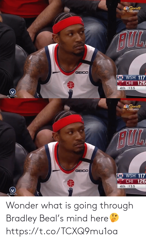 What Is: Wonder what is going through Bradley Beal's mind here🤔 https://t.co/TCXQ9mu1oa