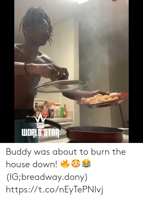 Hip Hop: WORLE STAR  HIP HOP.COM Buddy was about to burn the house down! 🔥😳😂 (IG;breadway.dony) https://t.co/nEyTePNIvj