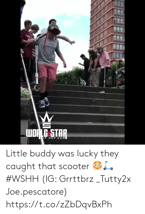 wshh: WORLG STAR  IP HOP.COM Little buddy was lucky they caught that scooter 😳🛴 #WSHH (IG: Grrttbrz  _Tutty2x Joe.pescatore) https://t.co/zZbDqvBxPh