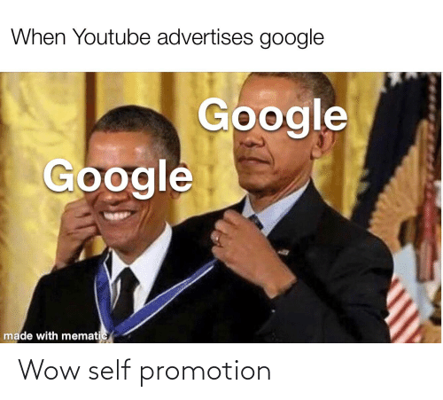 promotion: Wow self promotion