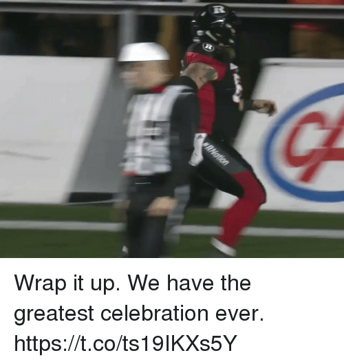 Football, Nfl, and Sports: Wrap it up.  We have the greatest celebration ever. https://t.co/ts19IKXs5Y