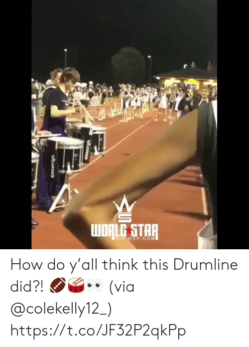 Hip Hop: WRLG STAR  HIP HOP.COM How do y'all think this Drumline did?! 🏈🥁👀 (via @colekelly12_) https://t.co/JF32P2qkPp