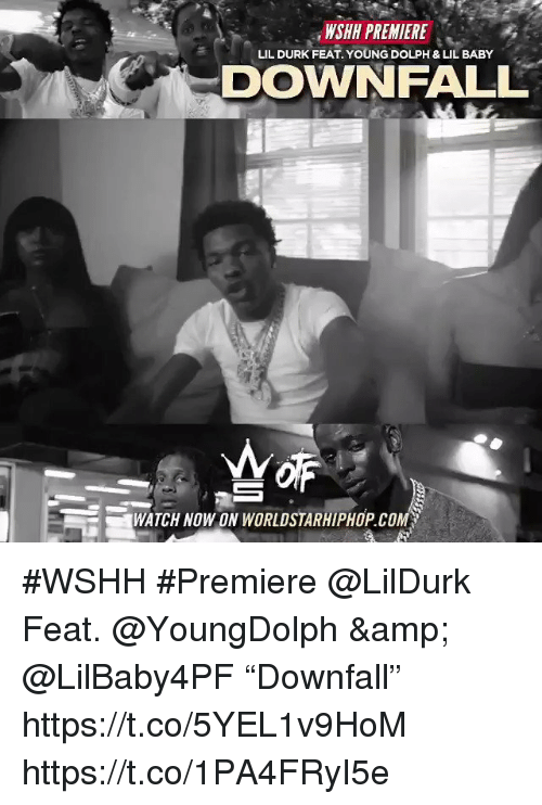 """worldstarhiphop: WSHH PREMIERE  DOWNFALL  LIL DURK FEAT. YOUNG DOLPH & LIL BABY  WATCH NOWON WORLDSTARHIPHOP.COM #WSHH #Premiere @LilDurk Feat. @YoungDolph & @LilBaby4PF """"Downfall"""" https://t.co/5YEL1v9HoM https://t.co/1PA4FRyI5e"""
