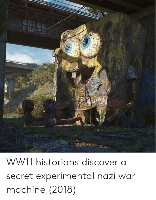 War Machine, Discover, and Nazi: WW11 historians discover a secret experimental nazi war machine (2018)