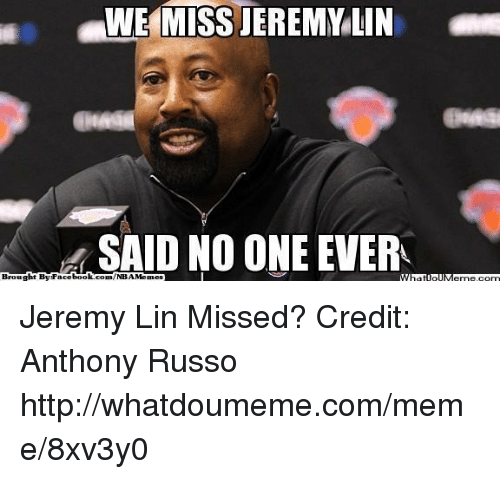 Jeremy Lin: WWE MISS JEREMY LIN  N SAID NO ONE EVER  Brought By Face  book  com/NBAMermes Jeremy Lin Missed?