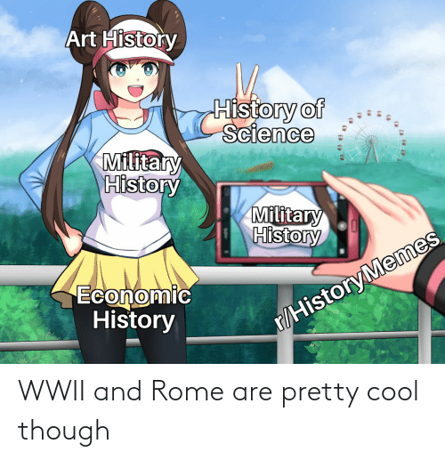 Rome: WWII and Rome are pretty cool though