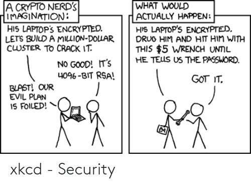 security: xkcd - Security