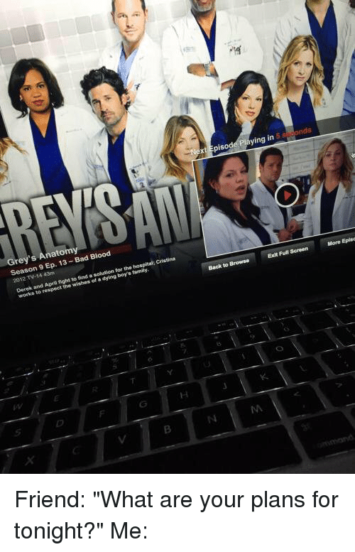 Xt Episode Playing in Grey\'s Anatomy Season 9 Ep 13 Bad Blood 2012 ...