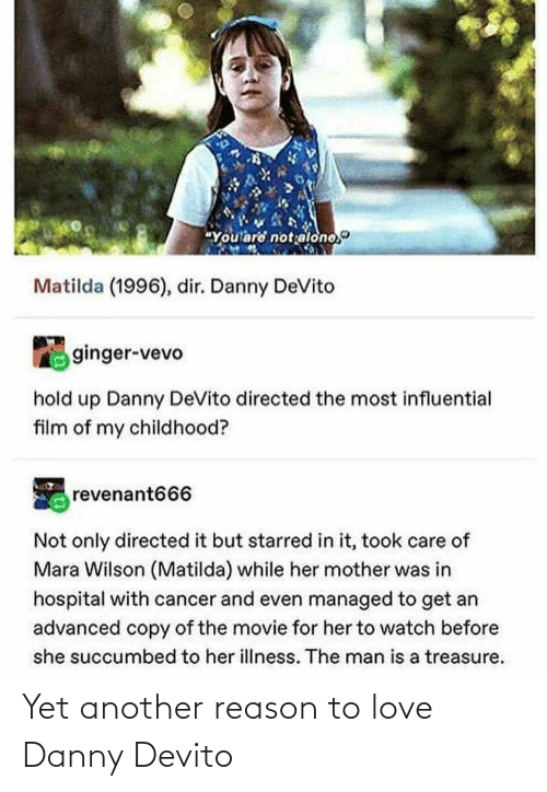 Love, Tumblr, and Reason: Yet another reason to love Danny Devito