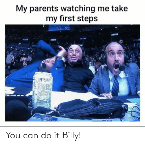 Can Do: You can do it Billy!