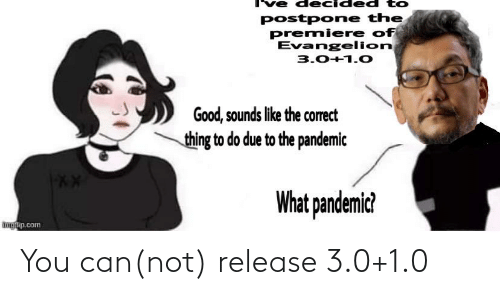 3 0: You can(not) release 3.0+1.0