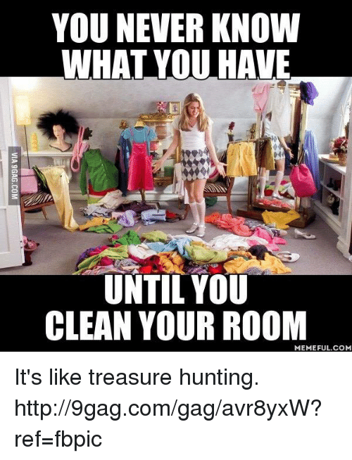 Clean Your Room Meme