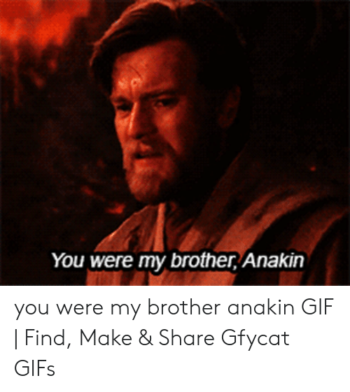 you were the chosen one gif