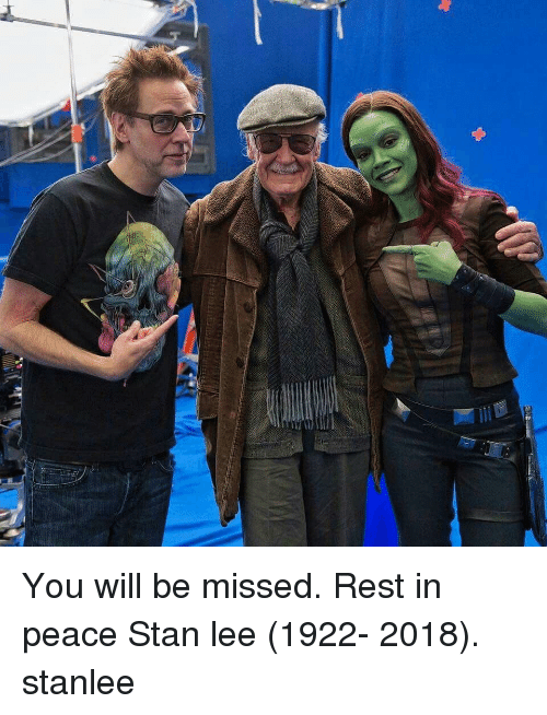 Memes, Stan, and Stan Lee: You will be missed. Rest in peace Stan lee (1922- 2018). stanlee