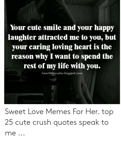 ✅ 25+ Best Memes About Sweet Love Memes for Her | Sweet ...