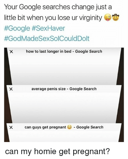 Average penis length when losing virginity