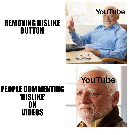 Videos, youtube.com, and People: YouTube  REMOVING DISLIKE  BUTTON  YouTube  PEOPLE COMMENTING  DISLIKE'  ON  VIDEOS