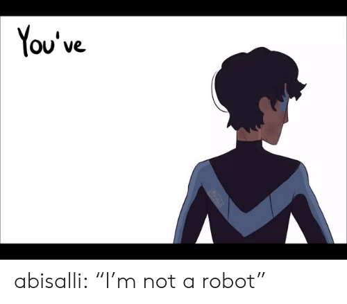 """Target, Tumblr, and Blog: You've abisalli:  """"I'm not a robot"""""""