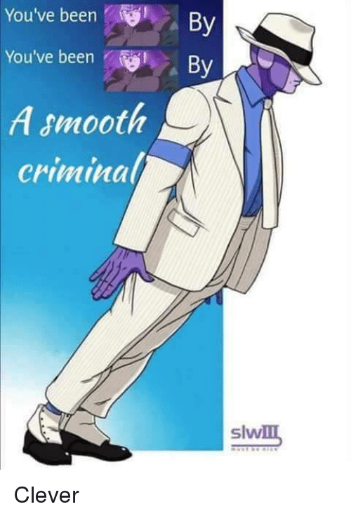 Smooth Criminal: You've been  You've been  A smooth  Criminal  By  By  slw Clever