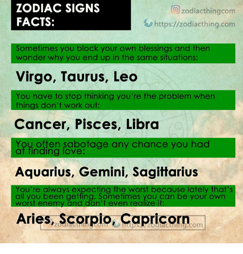 ✅ 25+ Best Memes About Zodiac Signs Facts | Zodiac Signs