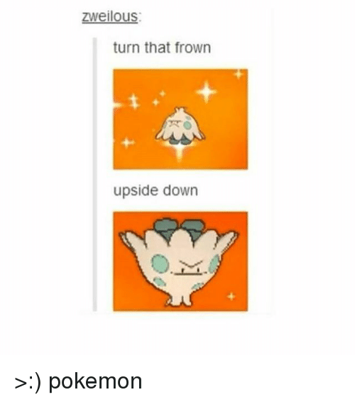 Frowning: Zweilous:  turn that frown  upside down >:) pokemon